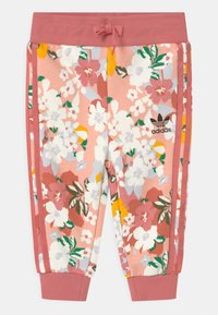 adidas Originals - SET HER LONDON ALL OVER PRINT ORIGINALS TRACKSUIT - Teplákové kalhoty - hazy rose/multicolor/black - 2