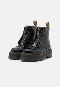 Dr. Martens - VEGAN SINCLAIR - Platform ankle boots - black oxford - 2