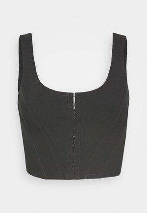 CORSET - Blouse - black