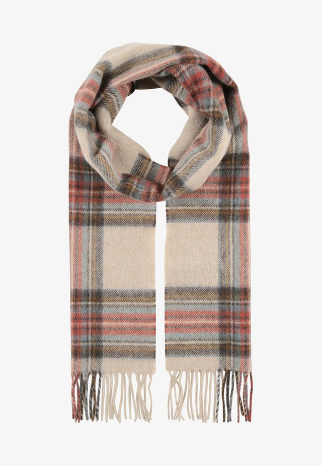 COUNTRY CHECK - Scarf - cream
