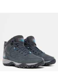 The North Face - Hiking shoes - ebony grey/griffin grey - 1