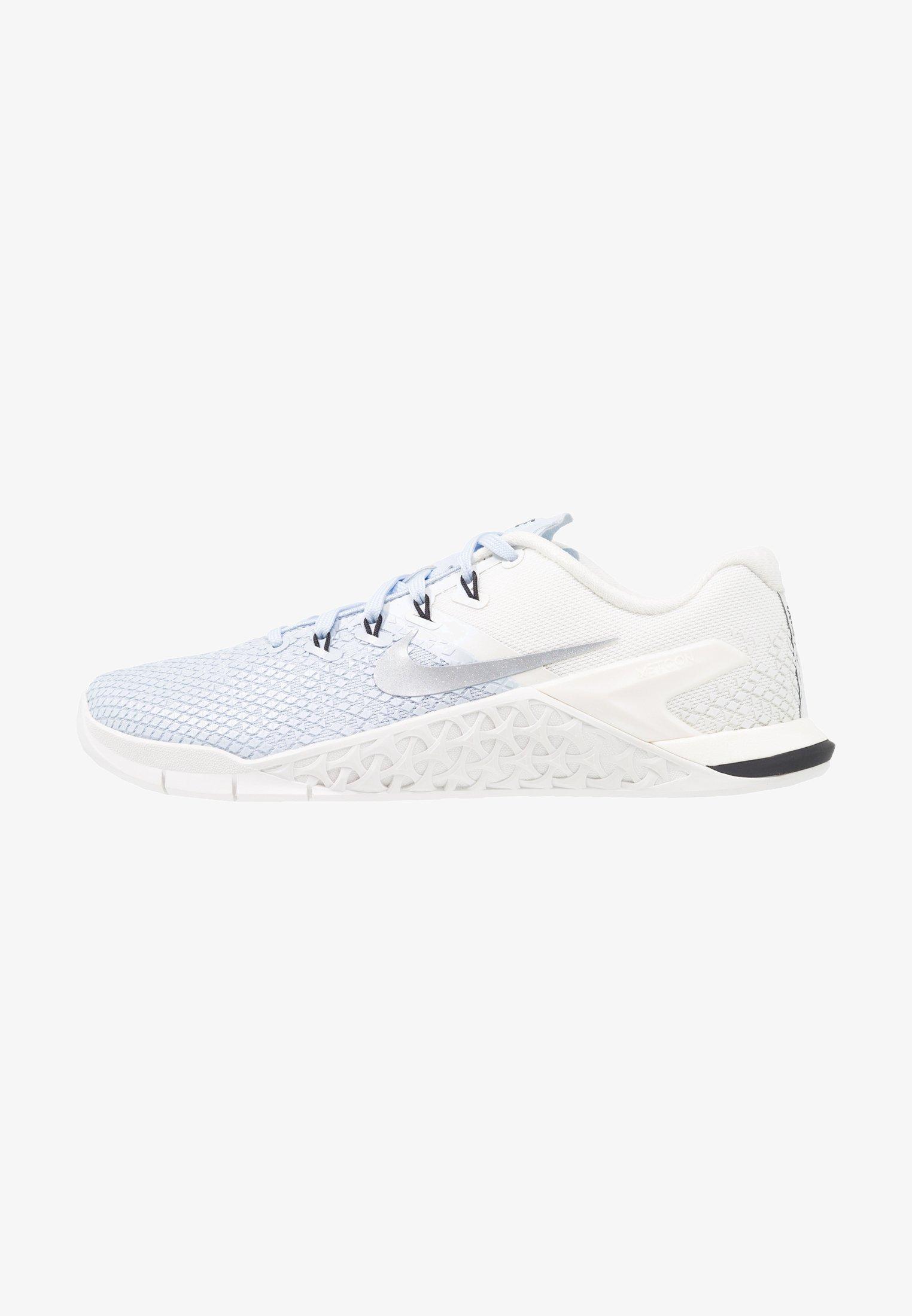 verdad Normalización segundo  Nike Performance METCON 4 XD - Sports shoes - half blue/metallic  silver/sail/black - Zalando.co.uk