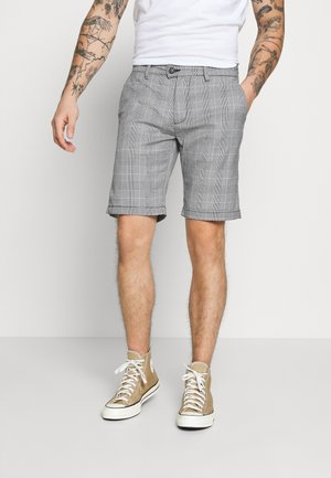 CHECKED - Shorts - grey
