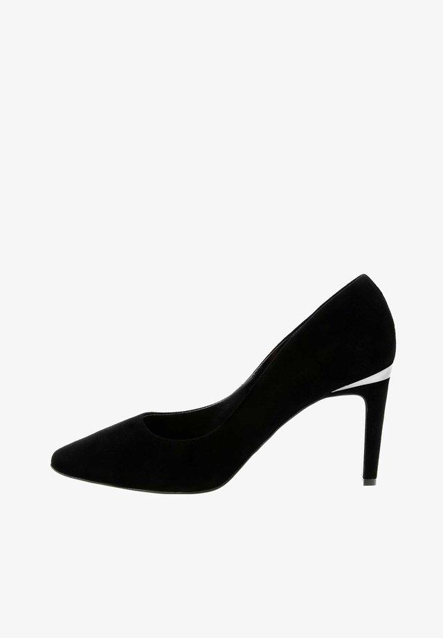 RAVARIO - Lodičky na vysokém podpatku - black