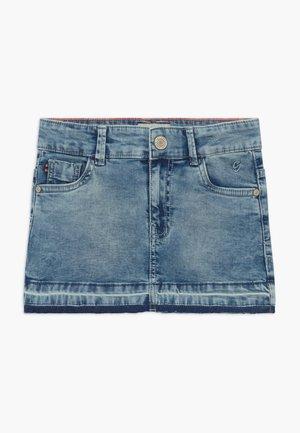 KIDS ANDRIA - Denim skirt - light-blue denim