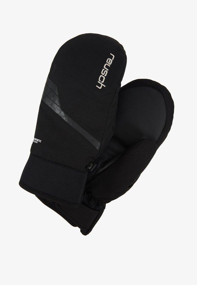 YANINA R-TEX® MITTEN - Rękawiczki z jednym palcem - black/silver