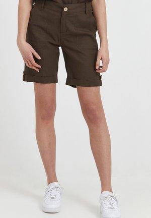 Shorts - dark brown