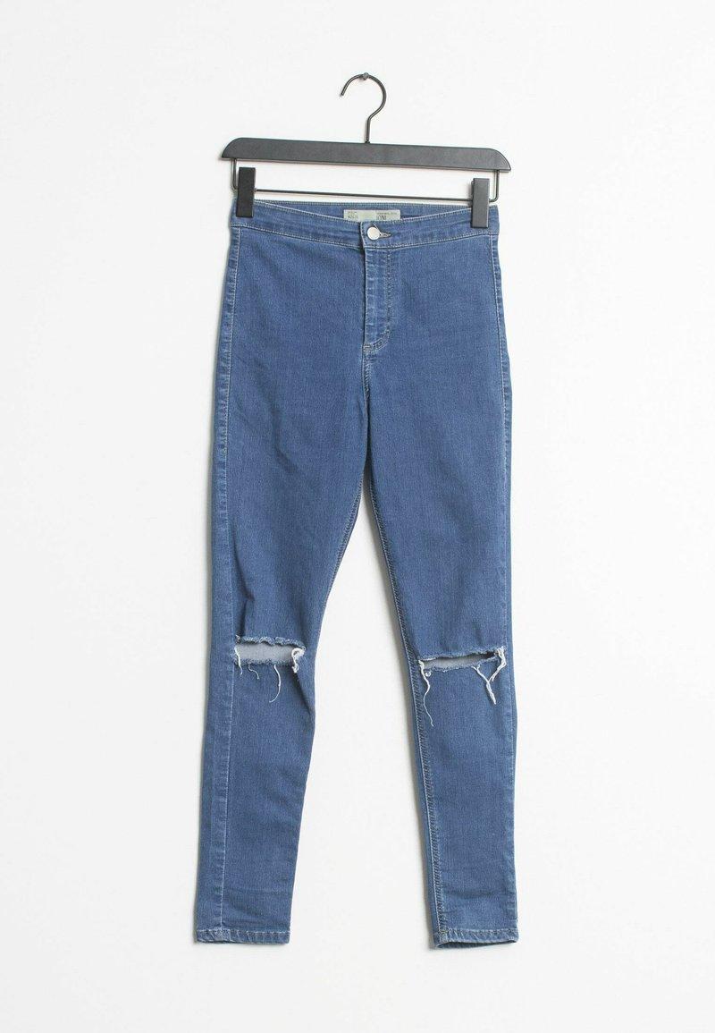 Topshop - Slim fit jeans - blue