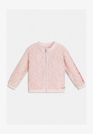 Strickjacke - rose