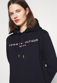 Tommy Hilfiger - HOODIE DRESS - Day dress - blue - 3