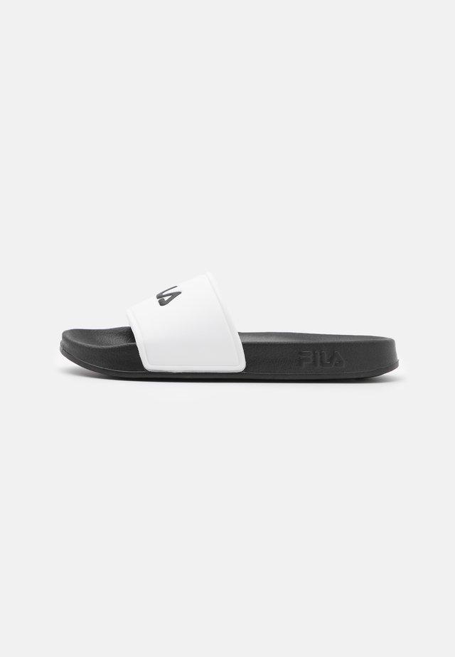 BAIA  - Pantofle - white/black