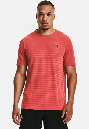 SEAMLESS FADE - Sports shirt - red