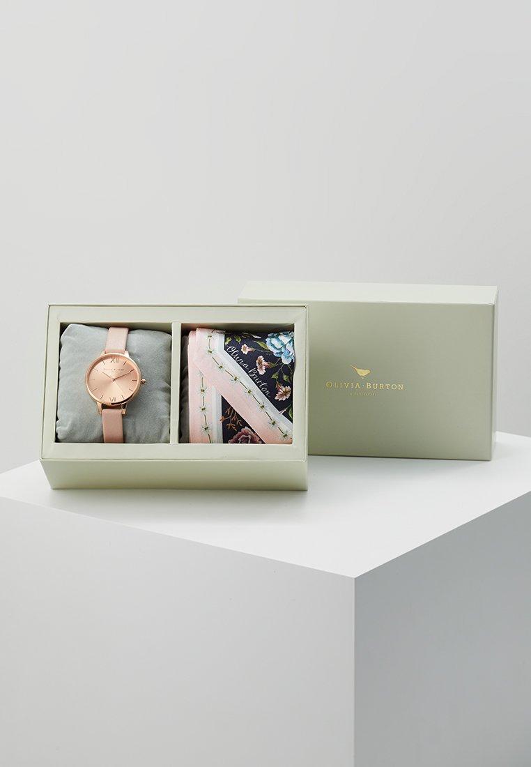 Olivia Burton - SUNRAY DIAL SET - Watch - dusty pink