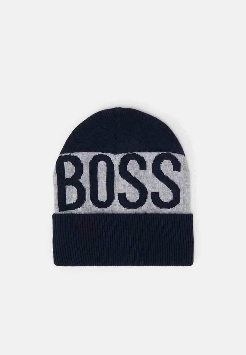 BOSS Kidswear - PULL ON HAT UNISEX - Beanie - navy