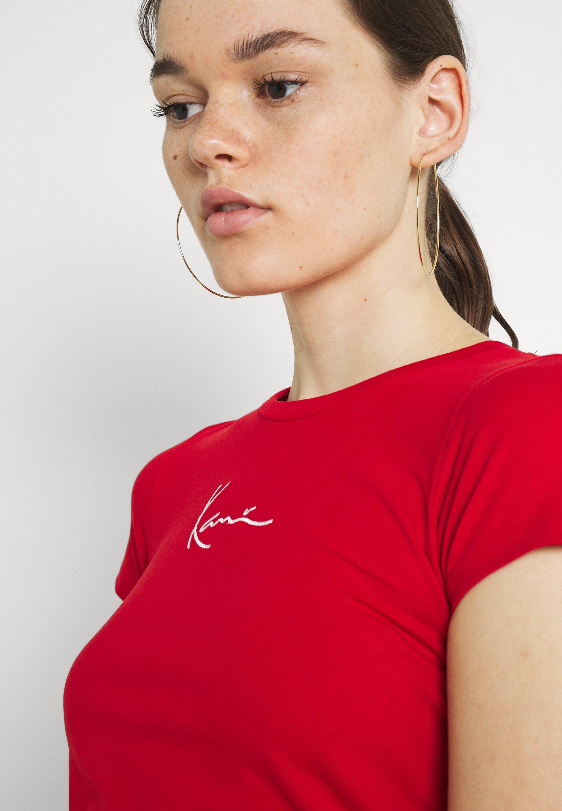 Damen SMALL SIGNATURE TEE - T-Shirt print