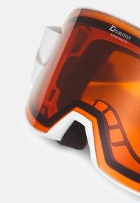 Alpina - NAKISKA UNISEX - Occhiali da sci - white/pink matt - 5