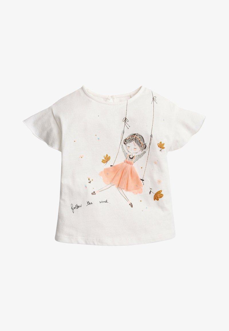 Next - Print T-shirt - off-white