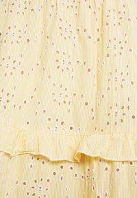 YAS - YASGEMMA STRAP MIDI DRESS  - Day dress - eggnog/marigold - 5