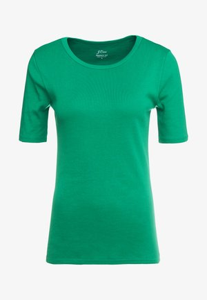 CREWNECK ELBOW SLEEVE - Camiseta básica - sea moss