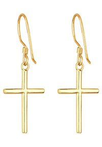 Elli - KREUZ - Earrings - gold-coloured