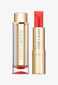 Estée Lauder - PURE COLOR LOVE LIPSTICK CREMÉ - Rouge à lèvres - 340 hot rumor - 0