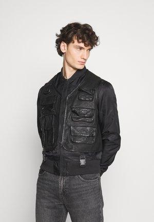 BEROCKY 2-IN-1 - Waistcoat - black