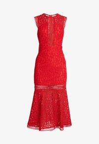 Love Triangle - THE TANGO MIDAXI DRESS - Suknia balowa - red - 3