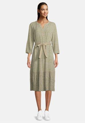 Day dress - khaki/cream