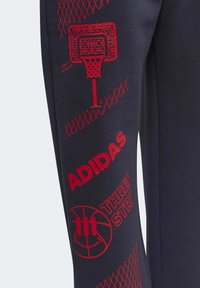 adidas Performance - FLEECE JOGGERS - Tracksuit bottoms - blue - 4