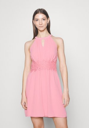 VIMILINA HALTERNECK DRESS - Cocktail dress / Party dress - wild rose