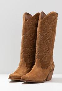 mtng - CENTA - Cowboy/Biker boots - tan - 4