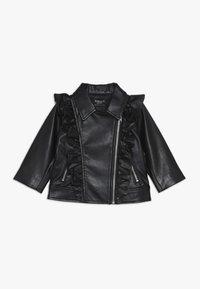 Bardot Junior - JACKET - Faux leather jacket - black - 0