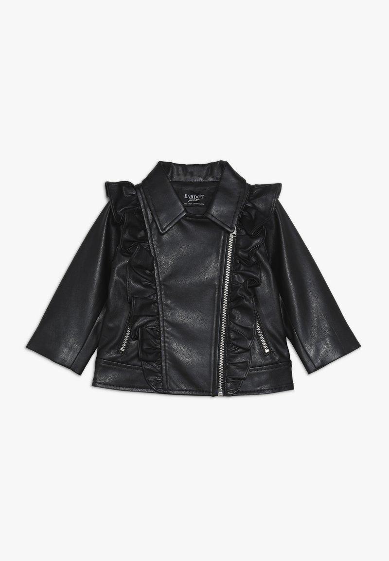Bardot Junior - JACKET - Faux leather jacket - black