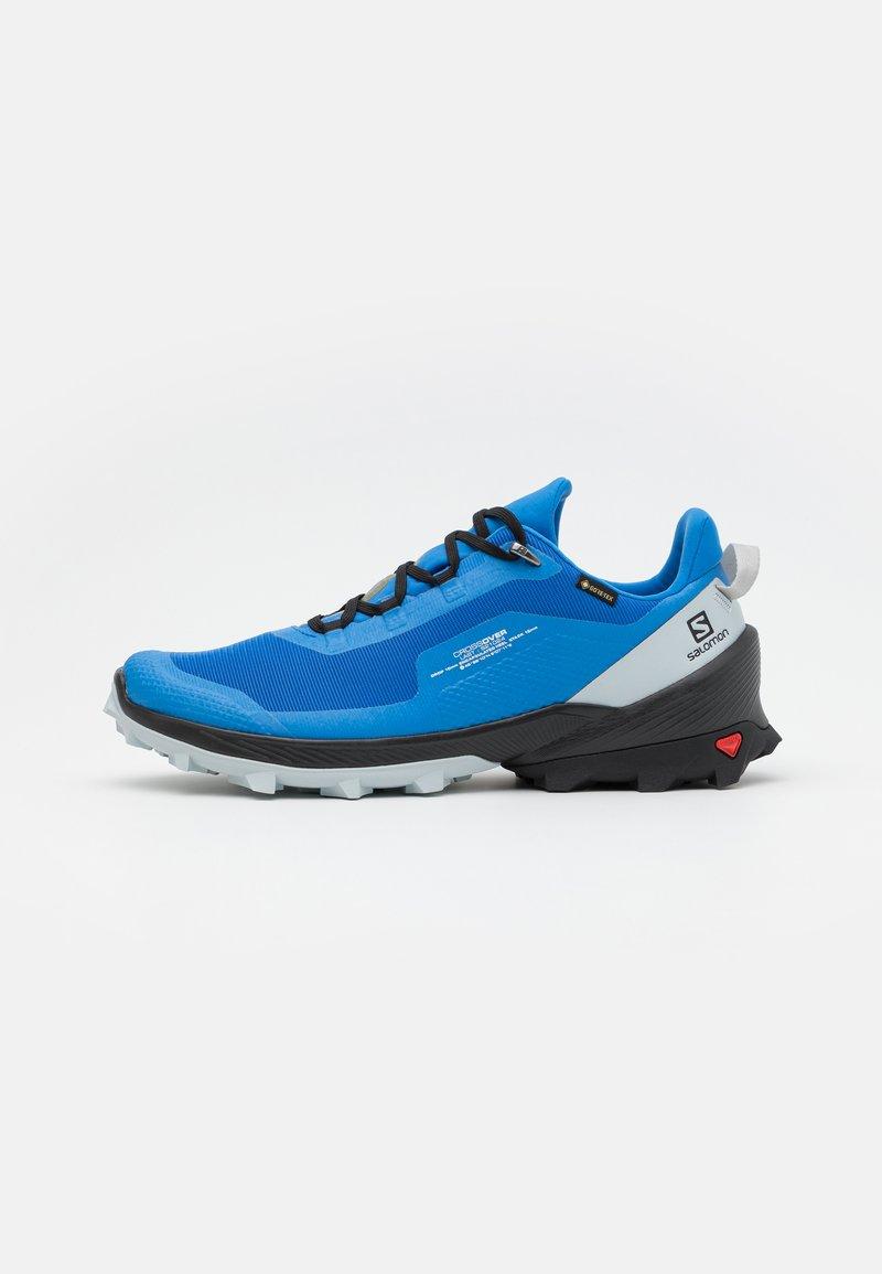 Salomon - CROSS OVER GTX - Hiking shoes - palace blue/black/pearl blue