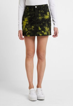 Mini skirt - multicoloured