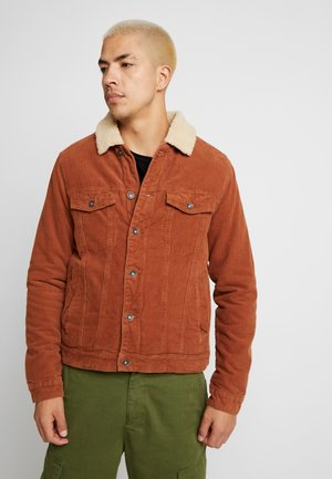 BORG JACKET - Light jacket - rust cord