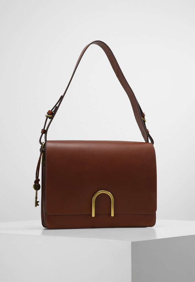 MAYA - Across body bag - medium brown