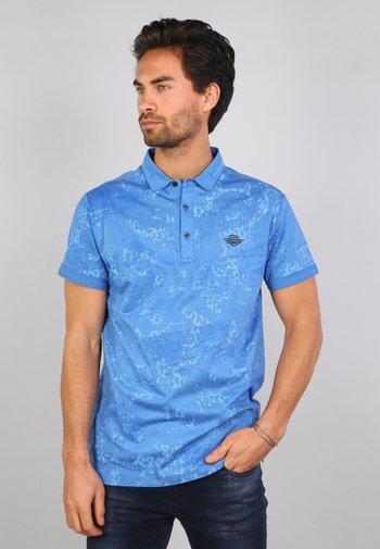 Polo shirt - niagara blue