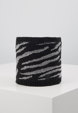 KIDS GIRL TUBE ZEBRA - Snood - carbonmeliert/mittelgraumeliert