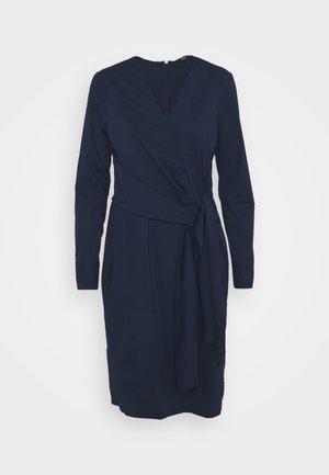 STELLA DRAPE DRESS - Tubino - navy blue