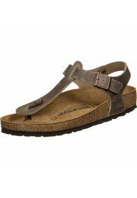 Birkenstock - T-bar sandals -  brown - 2