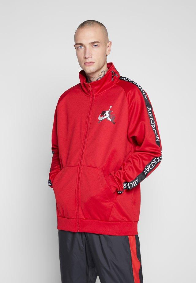 Training jacket - gym red/black/white