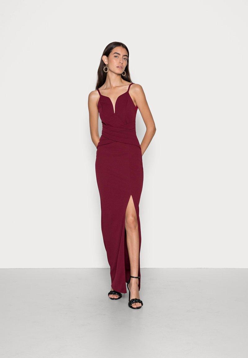 WAL G. - RAMIRA DRESS - Cocktail dress / Party dress - wine