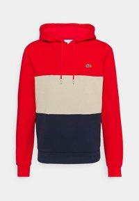 Lacoste - Sweatshirt - red/viennese/navy blue - 5