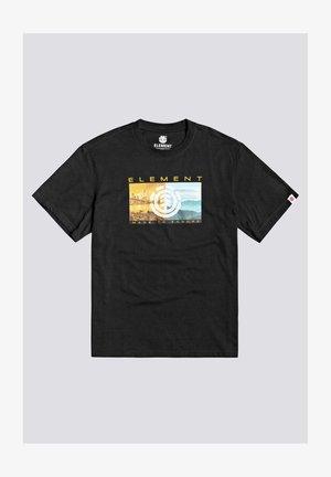 SENTINEL  - Print T-shirt - flint black