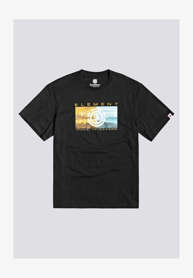 SENTINEL  - T-shirt con stampa - flint black