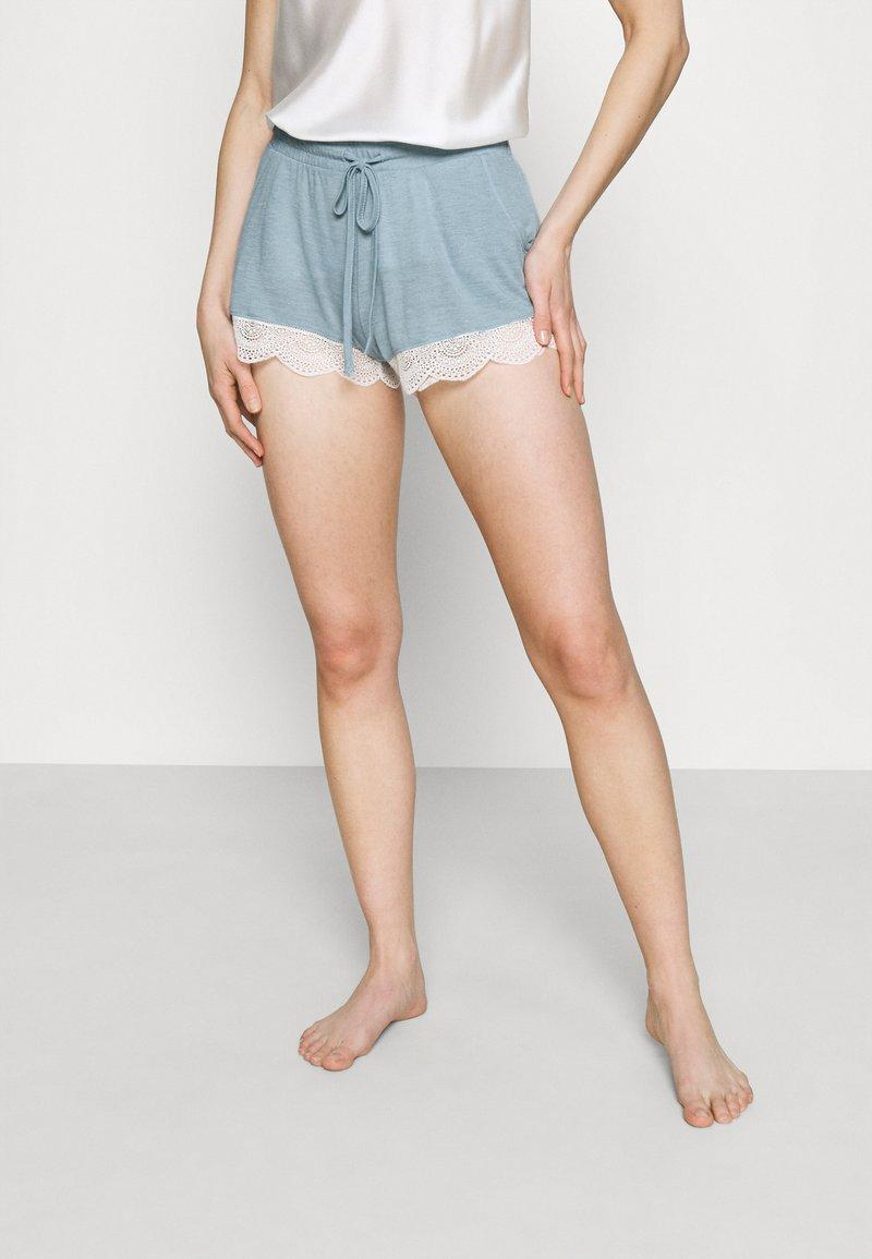 Etam - WARM DAY SHORT - Pantaloni del pigiama - blue-grey
