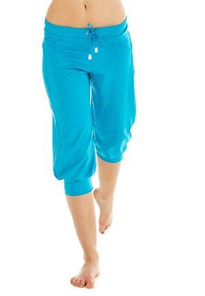3/4 sports trousers - türkis