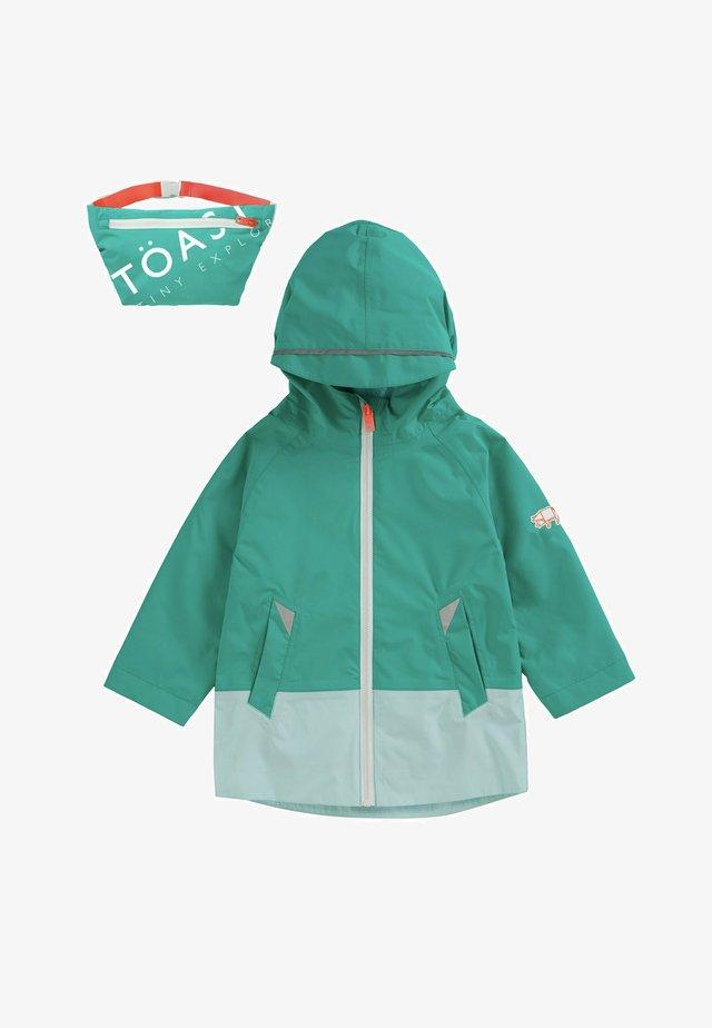 FEATHERLITE PAC-A-MAC - Waterproof jacket - teal