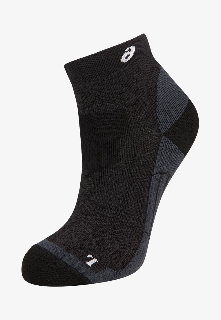 ASICS - ROAD QUARTER - Sports socks - performance black